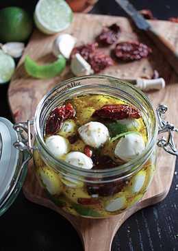 Mozzarella Aromatizada en AOVE