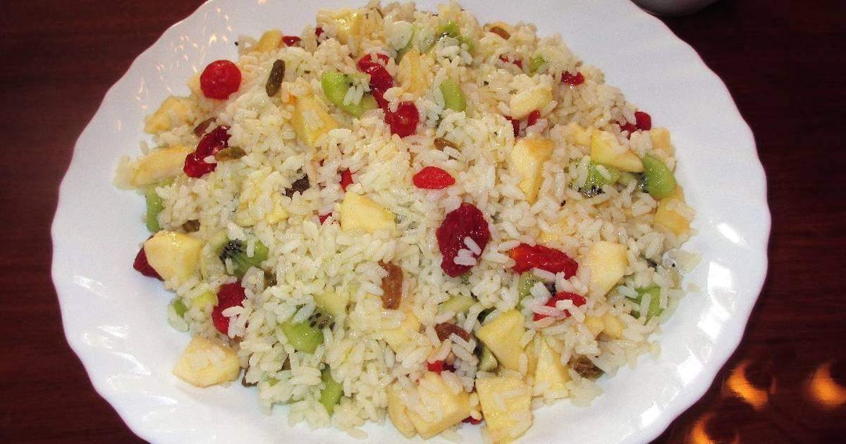 Ensalada de arroz 371 recetas caseras cookpad for Arroz blanco cocina al natural