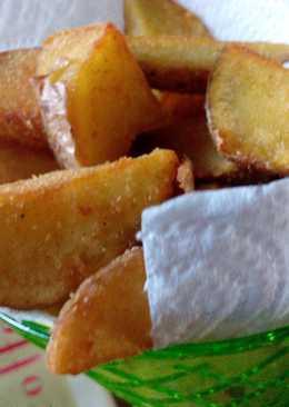 Patatas gajo rebozadas