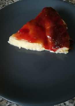 Tarta de queso fresco muy fácil