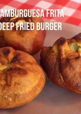 Deep fried hamburguer