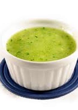 Salsa verde, para churrascos y hamburguesas