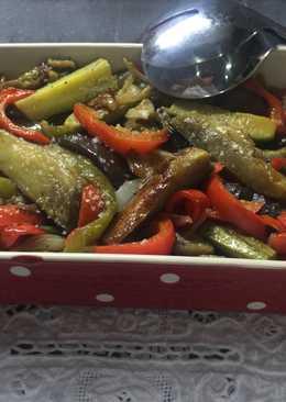 Verduras salteadas al natural