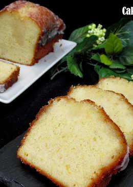Cake de limón