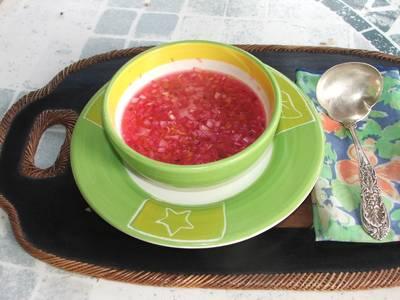 Chile habanero con cebolla morada y naranja agria