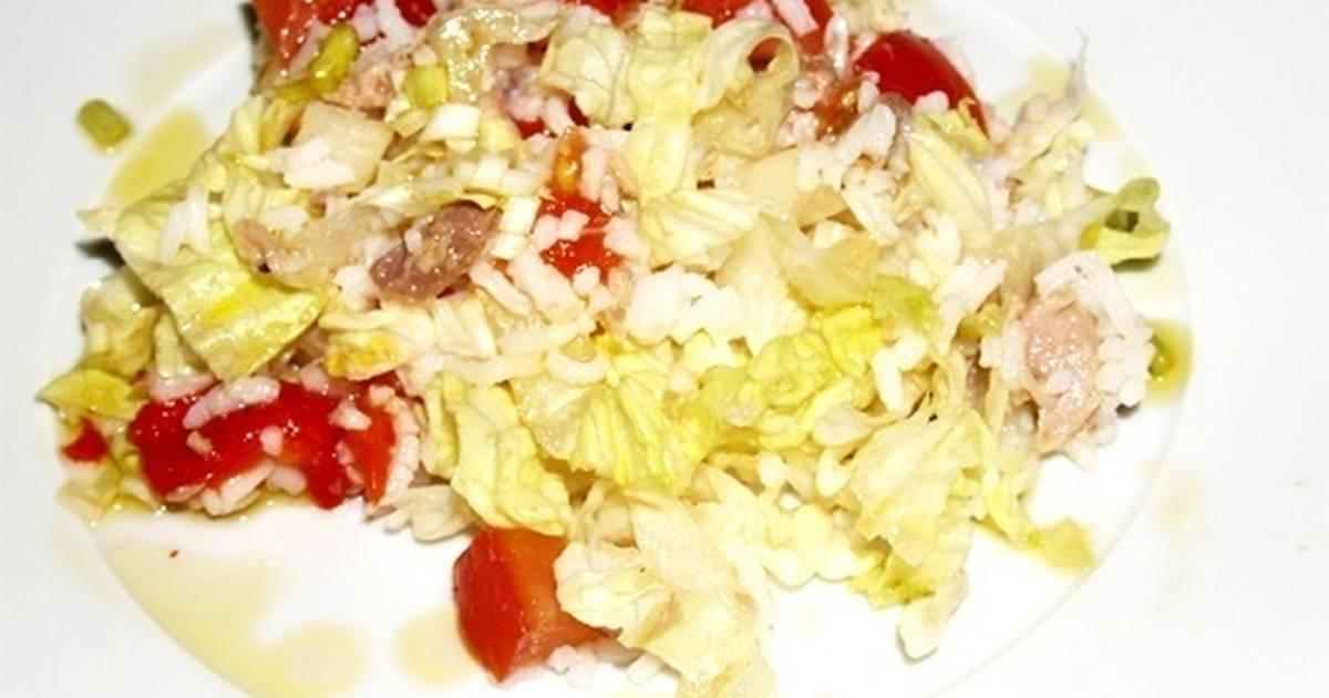 Arroz blanco con at n 6 recetas caseras cookpad for Arroz blanco cocina al natural