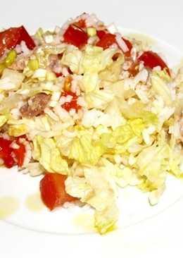 Ensalada de arroz con atun 109 recetas caseras cookpad - Ensalada de arroz y atun ...