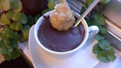 Chocolate con buñuelos