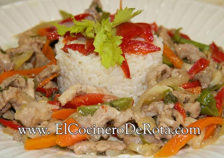 Chop Suey de cerdo original