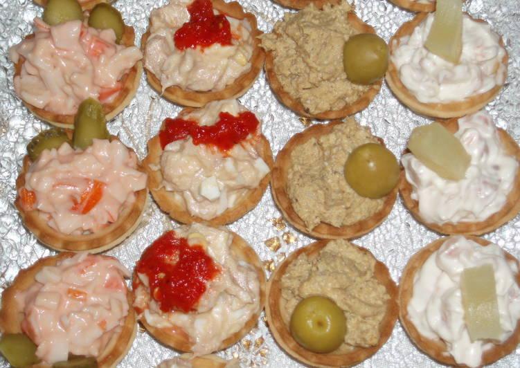 Canapes Frios En 5 Minutos Receta De Naranja Adrover Cookpad - Canapes-frios-recetas