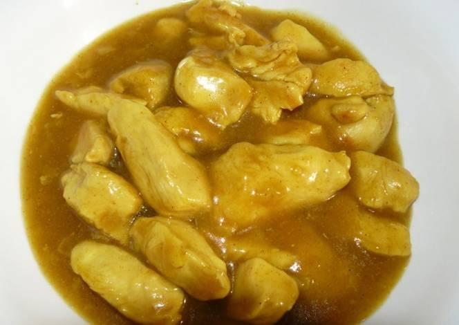 Muslos de pollo en salsa agridulce receta de noemaiolo for Muslos pollo en salsa