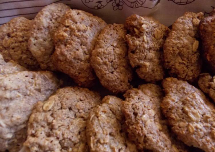 Galletas de avena sin harina receta de lenny cookpad - Cocinar harina de avena ...
