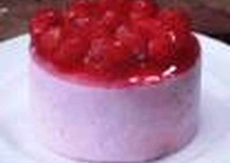 Mousse de fresa receta de gatita cookpad - Mousse de fresa ...