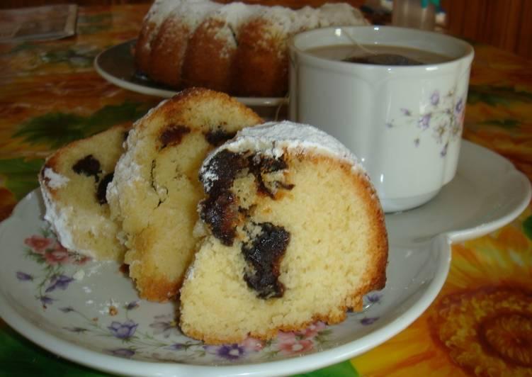 Plum Cake de ciruelas