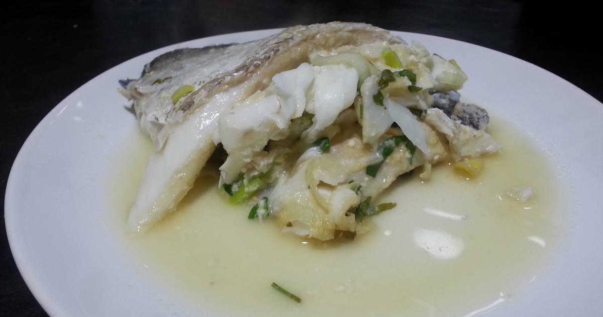 Merluza en papillote al horno receta de becky cookpad - Merluza a la papillote ...