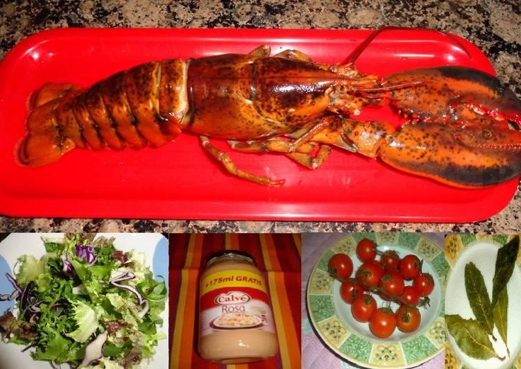 Bogavante en salsa de c ctel receta de carme castillo - Salsa para bogavante cocido ...