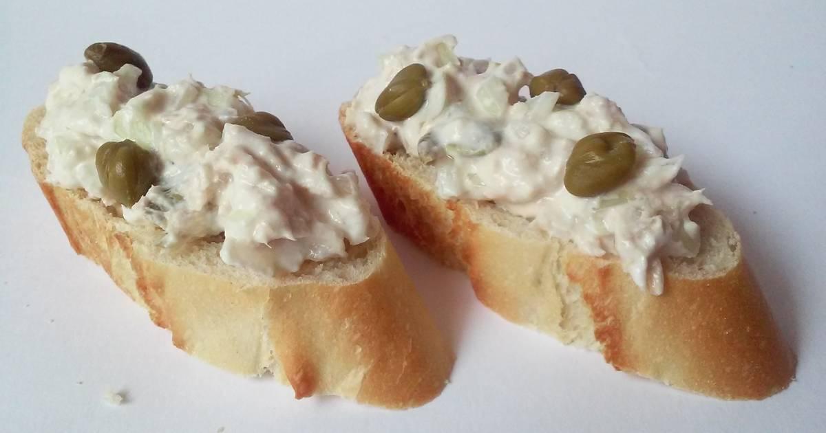 Alcaparras queso es 285 recetas caseras cookpad for Canape de pate con cebolla caramelizada