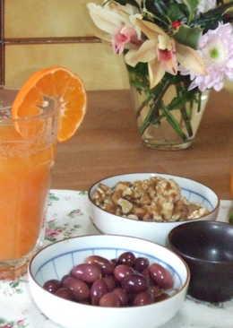 Cóctel de mandarina