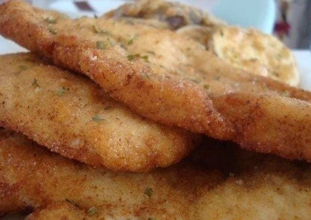 Pechuga empanada