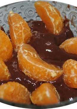 Postre rapido con sabor de chocolate amargo de Dr. Oethker