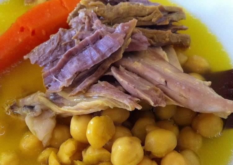 Cocido en la olla r pida receta de marina cookpad - Cocido en la olla express ...