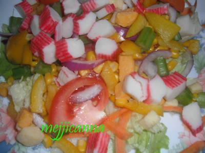 Ensalada fresca mexicana