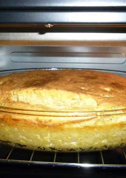 Chipa Guazú con maní y tofu