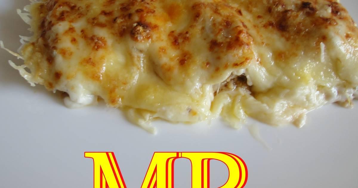 Canelones de pescado y marisco receta de montse 2009 cookpad for Canelones de pescado y marisco