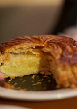 Gâteau des rois o pastel de reyes francés
