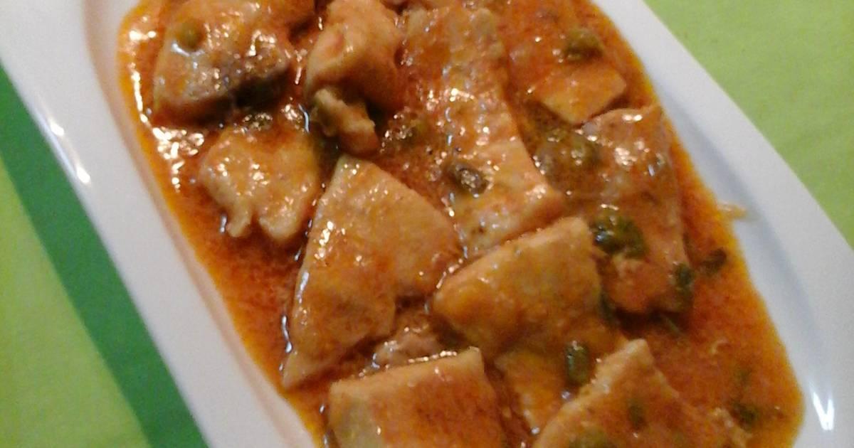 pez espada con tomate y pimiento 37 recetas caseras