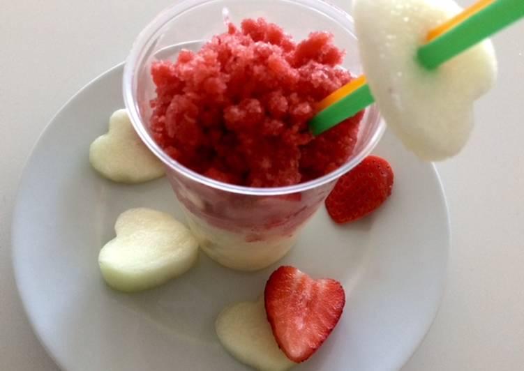 Granizado de frutas