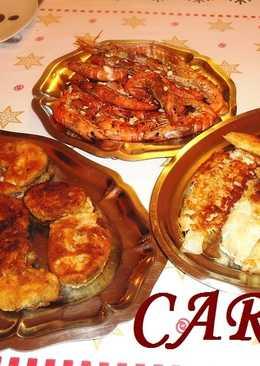 Fritada de pescados y mariscos
