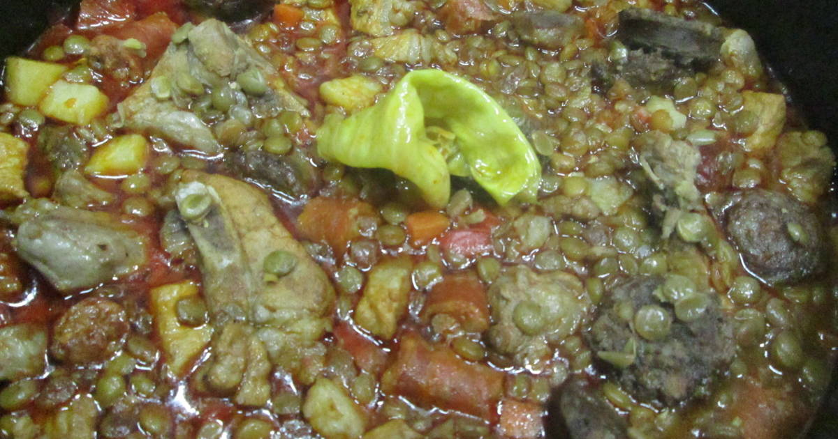 Lentejas Con Carne Lentejas Guisadas Con