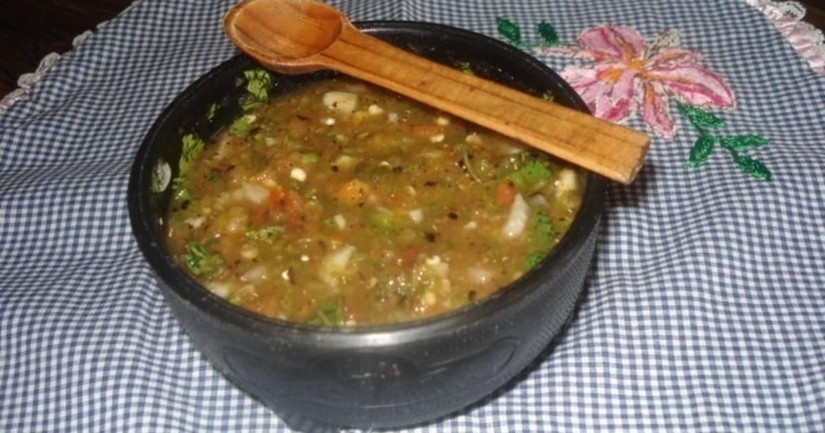 Recetas de Salsas Mexicanas Salsa Mexicana Picante Con