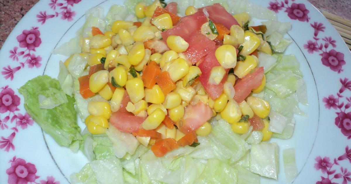Ensalada veraniega de choclo y zanahoria receta de - Ensalada de zanahorias ...