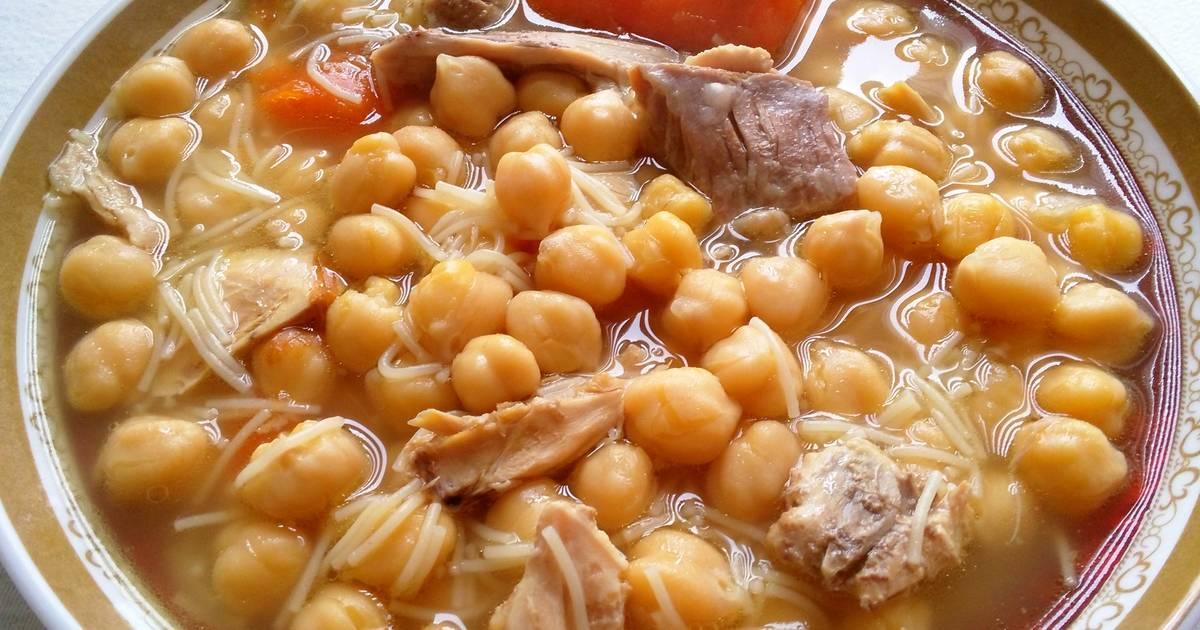 Cocido tradicional olla express receta de anabelbernal - Garbanzos olla express ...