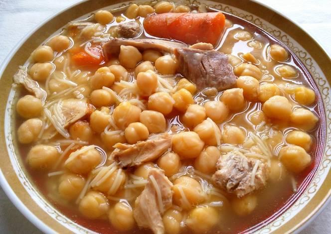 Cocido tradicional olla express receta de anabelbernal - Cocido en la olla express ...