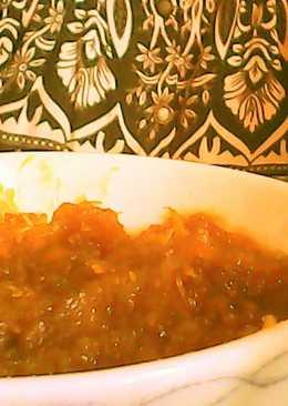 Mermelada de calabacín con azúcar morena