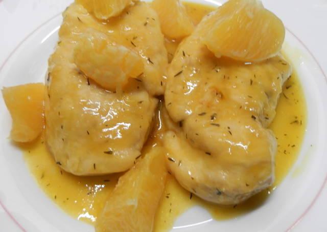 Pechuga de pollo en salsa de naranja receta de maricampol cookpad - Salsas para pechuga de pollo ...