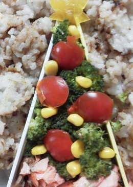Tupper o plato combinado navideño,  apto para celiacos y alérgicos