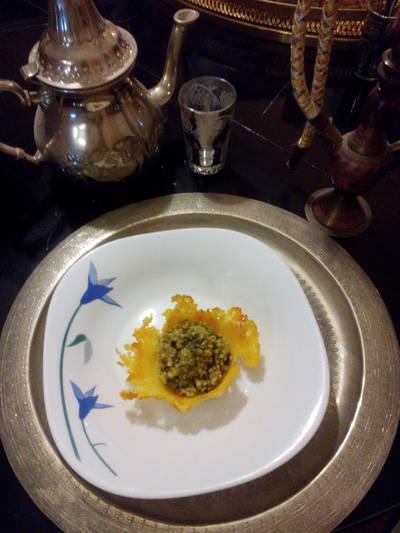 Ensalada fresca de quinoa y queso
