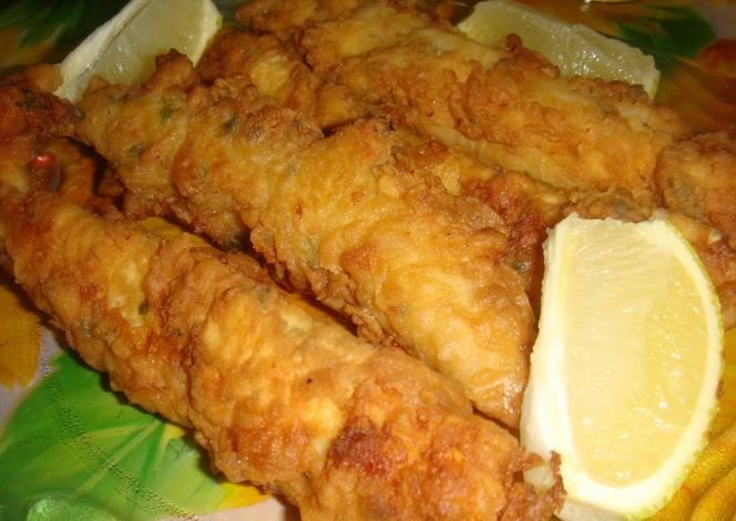 Pescado frito crocante receta de norali cookpad for Como cocinar pescado
