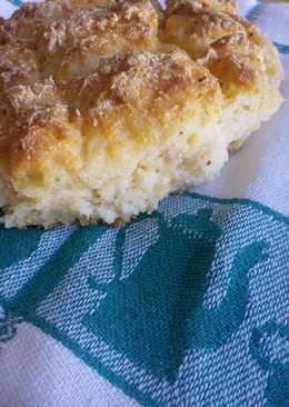 Pan con romero y queso