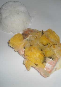 Filetes de salmón a mi manera