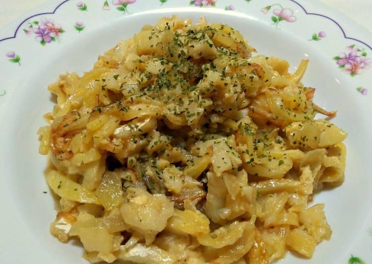 Bacalao con huevo y patata receta de anabelbernal cookpad - Bacalao con garbanzos y patatas ...