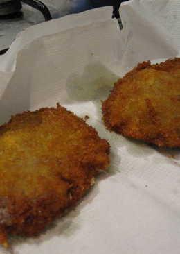 San Jacobo de queso y jamón serrano