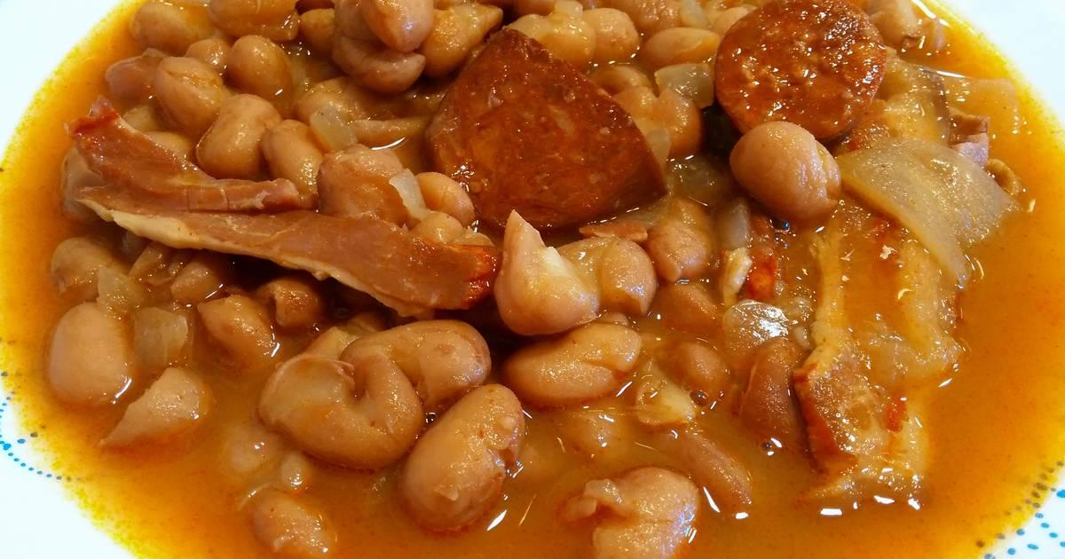 Alubias pintas guisadas receta de anabelbernal cookpad - Guiso de judias pintas ...