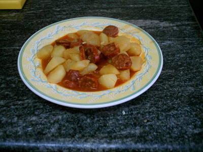 Patatas riojanas simples