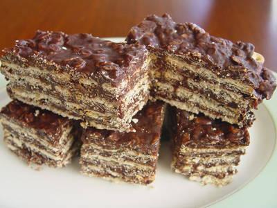 Torta Quaker y Chocolate