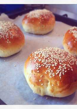 Pan para hamburgesas